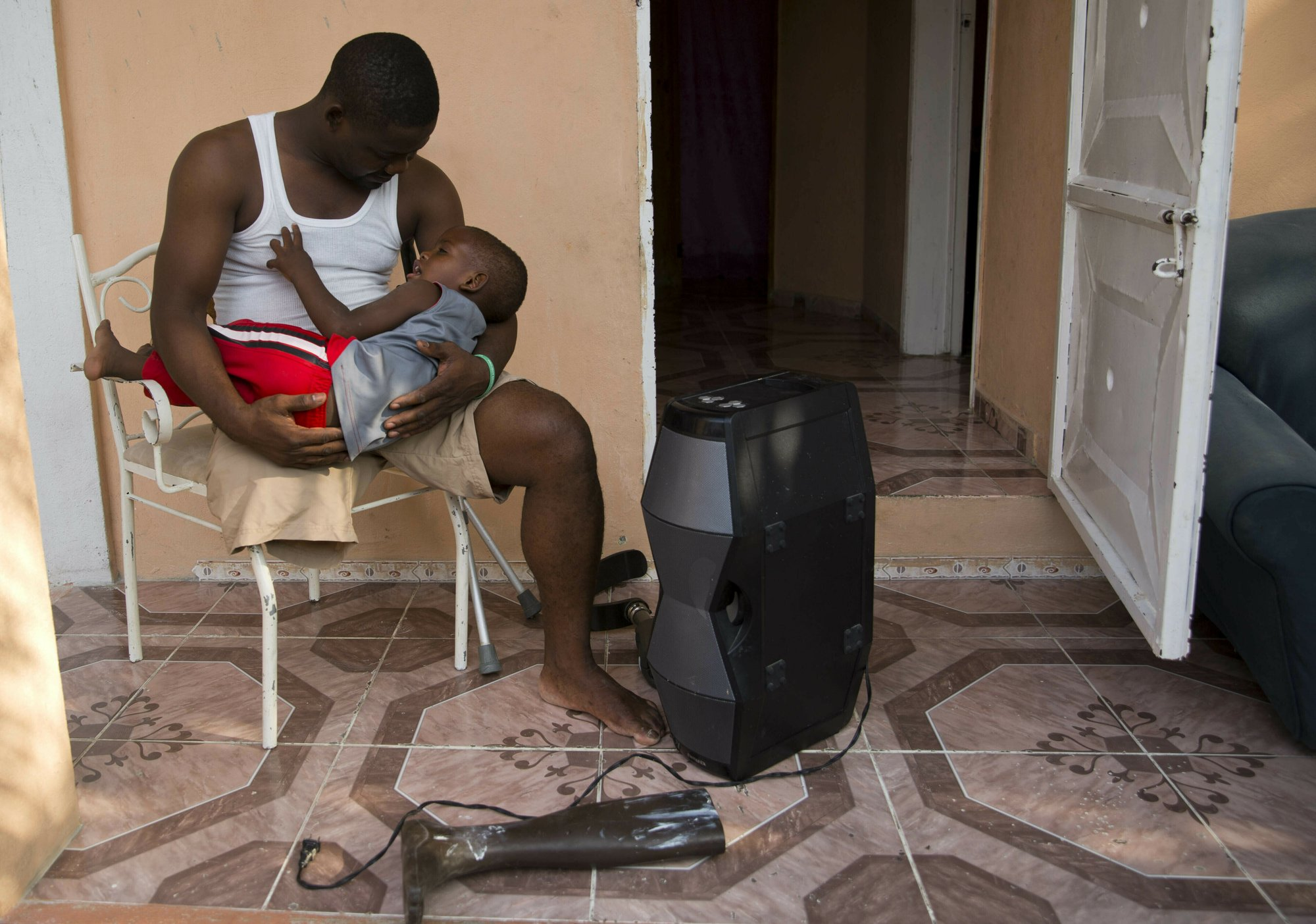 Disabled workers help Haitians who lost limbs in 2010 quake
