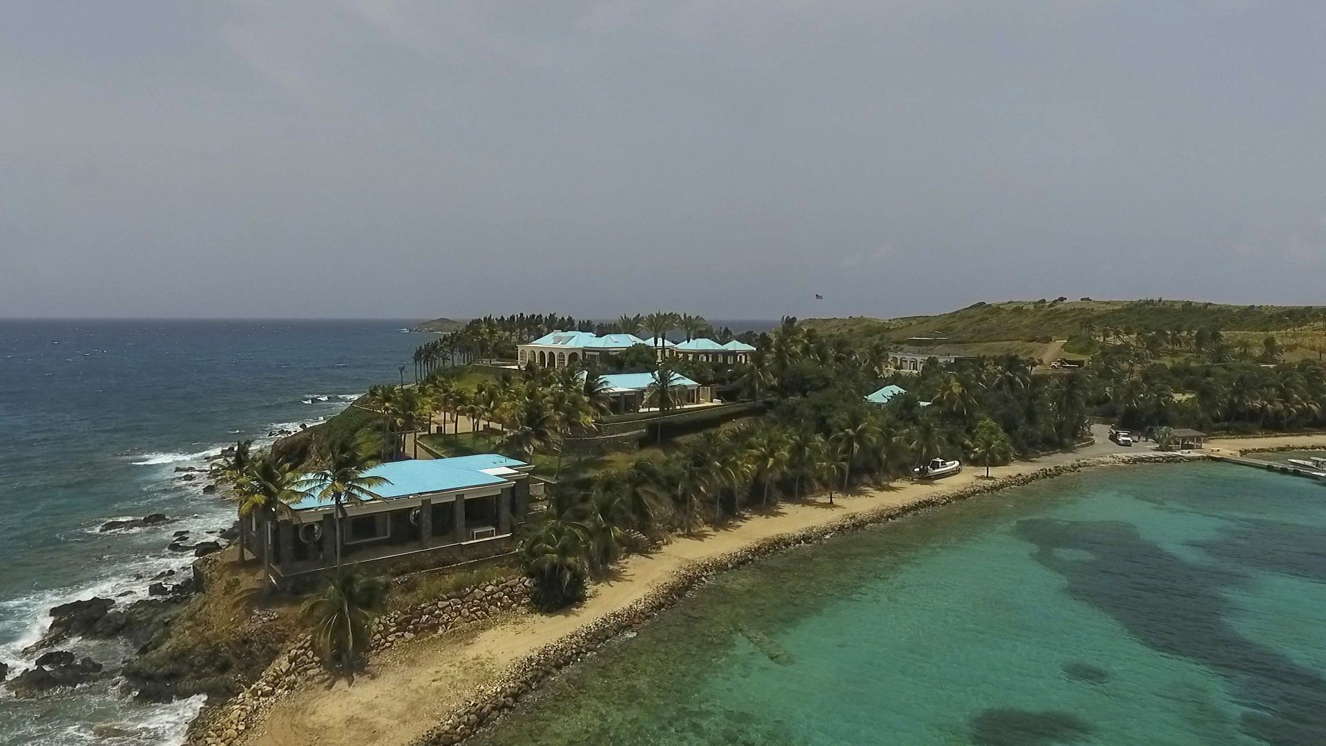 On Caribbean island whispers, suspicion about Epstein