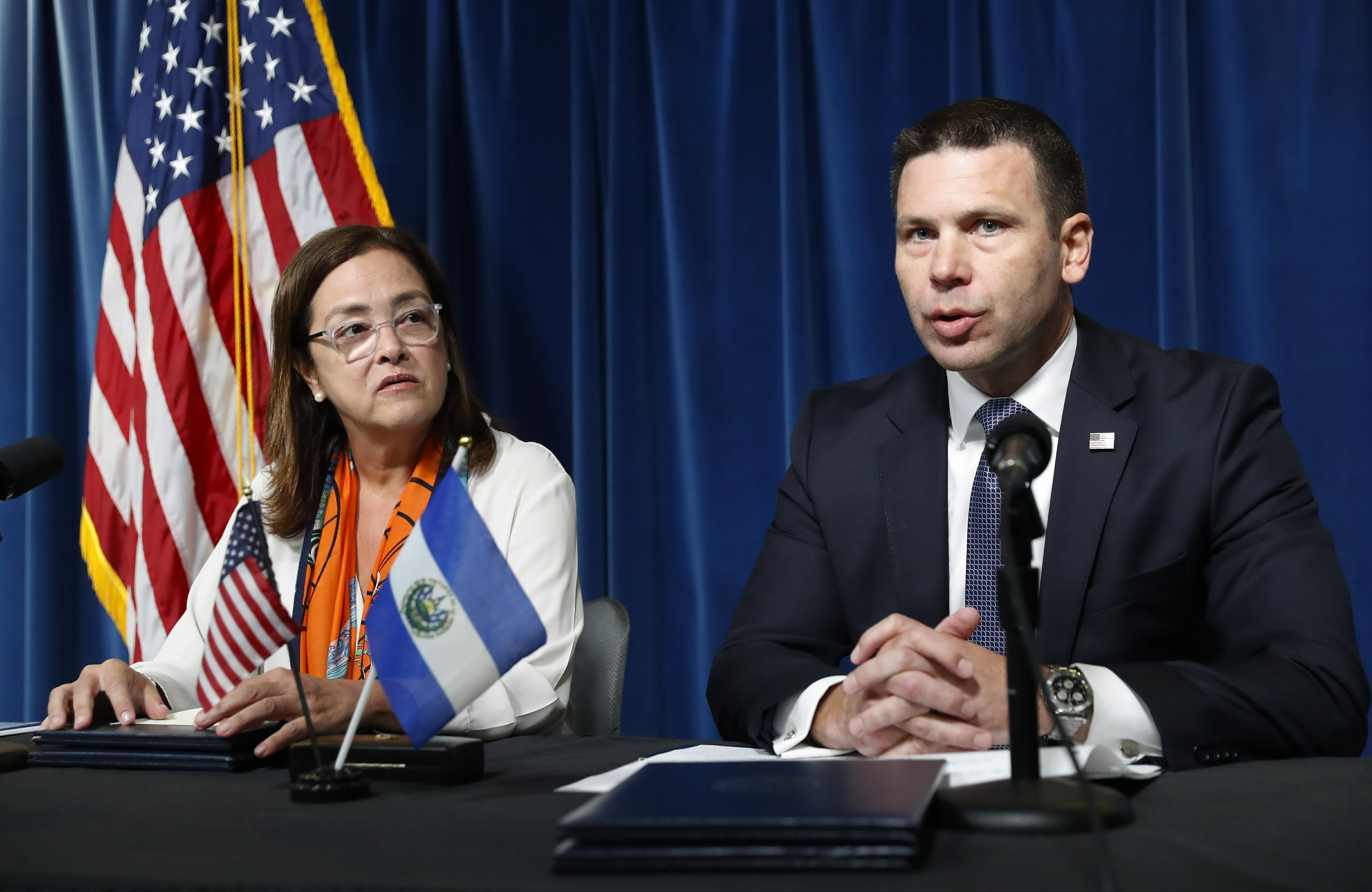 US, El Salvador sign asylum deal, but details vague