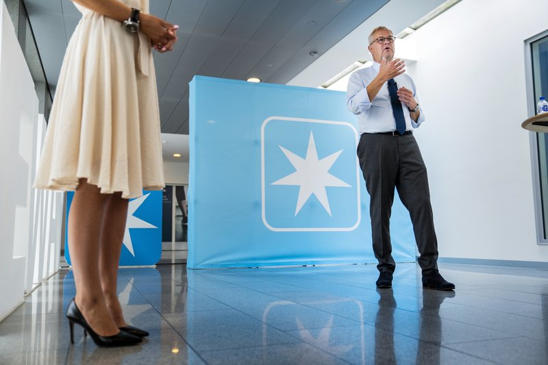 World's biggest shipping company, Denmark's A.P. Moller-Maersk, remains wary of pandemic