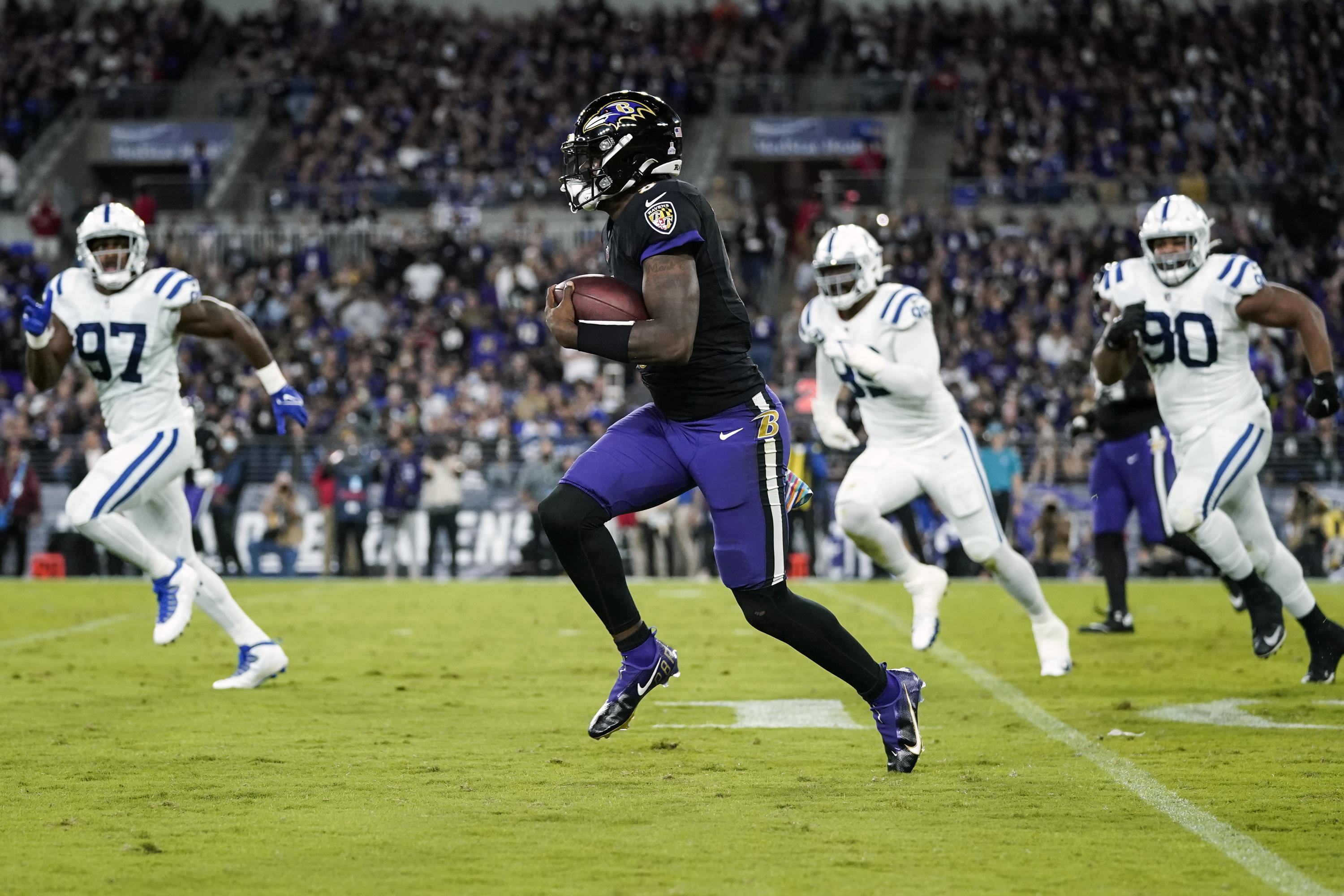 Jackson leads Ravens back to 31-25 OT win over Colts - Associated Press