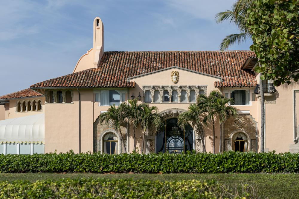 Will former President Donald Trump continue living at his Mar-a-Lago Club?