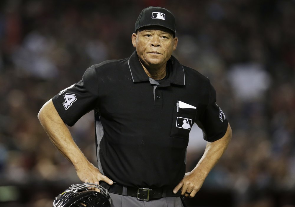 For black history month Major League Baseball appoints first black umpire crew chief–sad but good