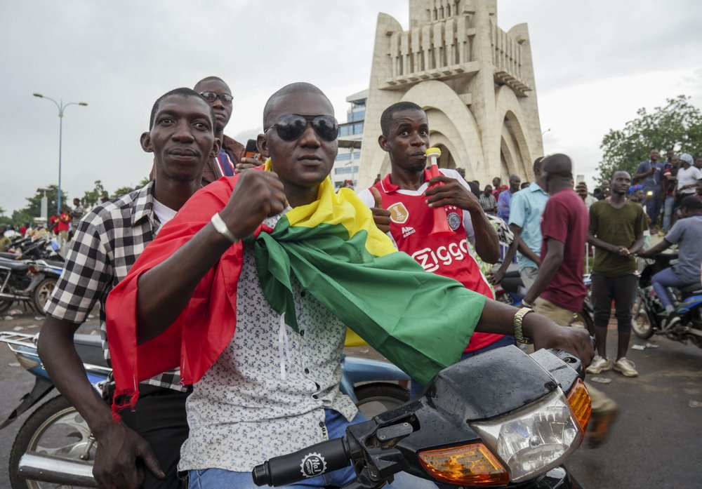 After months of protests demanding his ouster, Mali's president announces resignation
