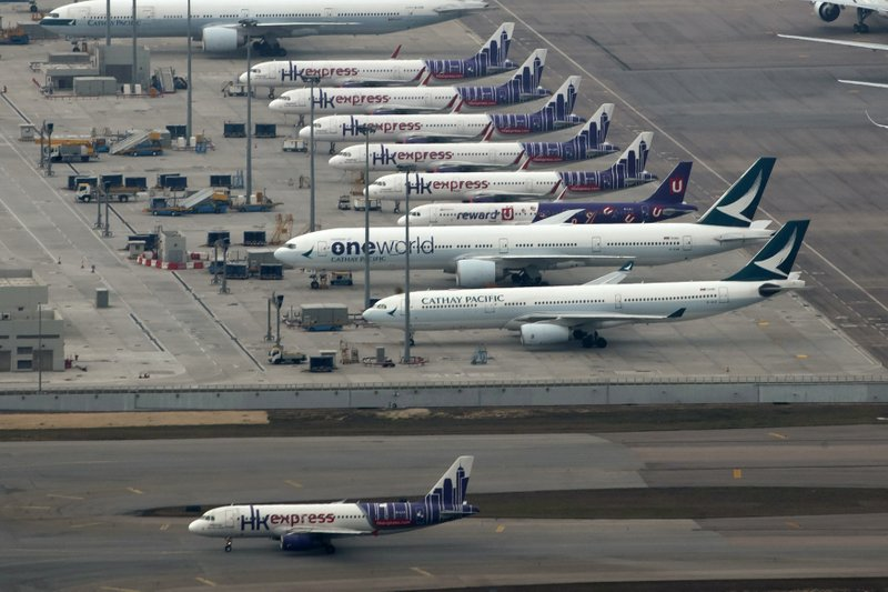 HK Express to temporarily suspend all flights due to falling demand