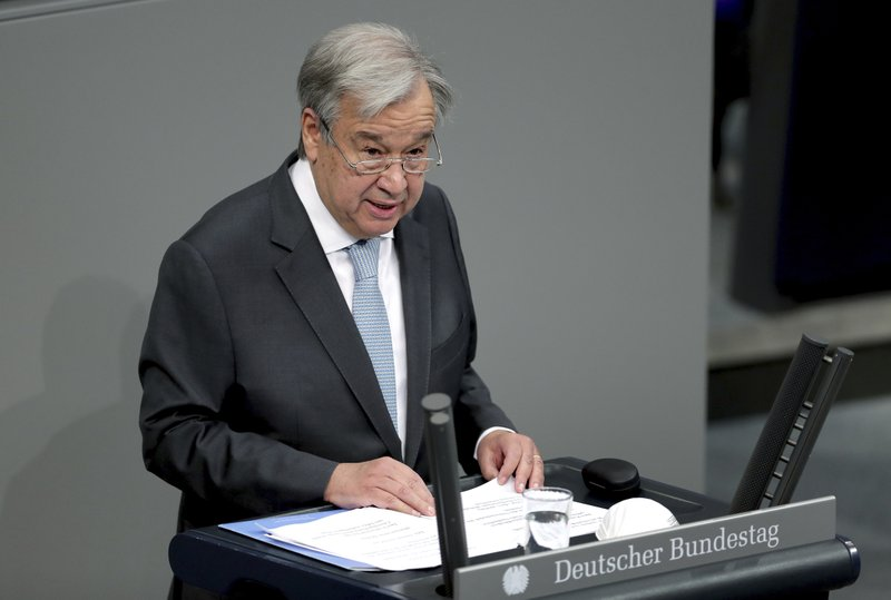 UN members to submit candidates to be the world organization's next chief diplomat and operating officer