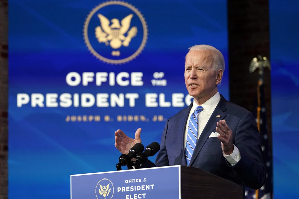 President-elect Joe Biden unveils .9T plan to bring COVID-19 under control and steady economy