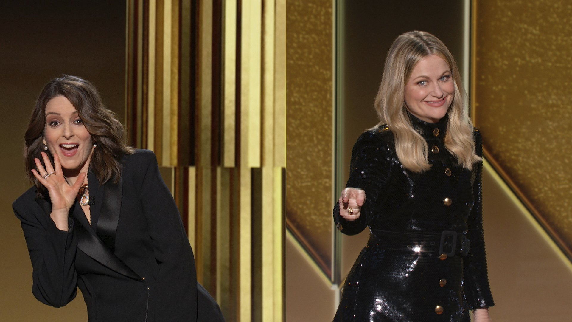 'Nomadland,' 'Borat' win at a socially distant Golden Globes
