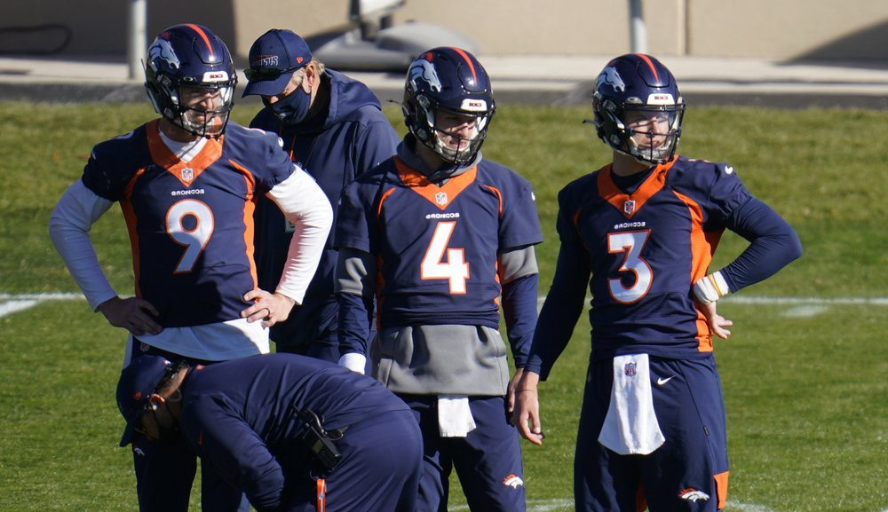 4 Denver Broncos QBs on hold for not wearing masks, breaking league's pandemic protocols
