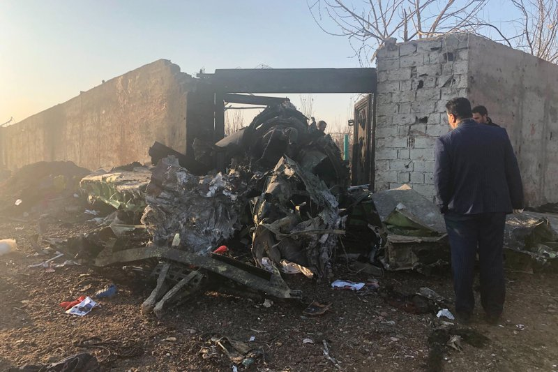 Image result for images of Ukrainian passenger plane carrying 176 people crashes in Iran shortly after takeoff