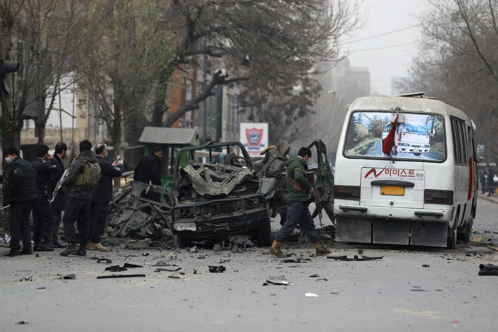 Series of Explosions Targeting Police Kill at Least Four People in Kabul