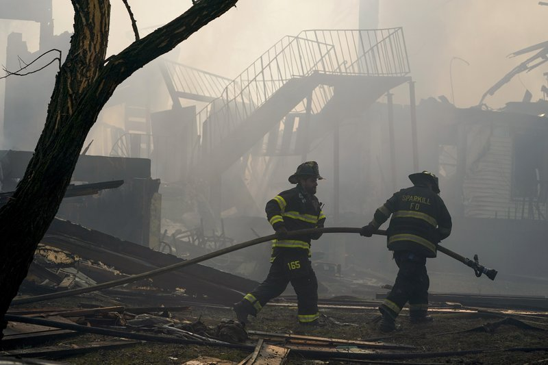 Fire at assisted living home in New York leaves resident dead, firefighter missing