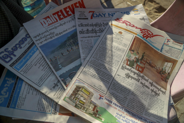 EXPLAINER: Myanmar media defiant as junta cracks down – The Associated Press
