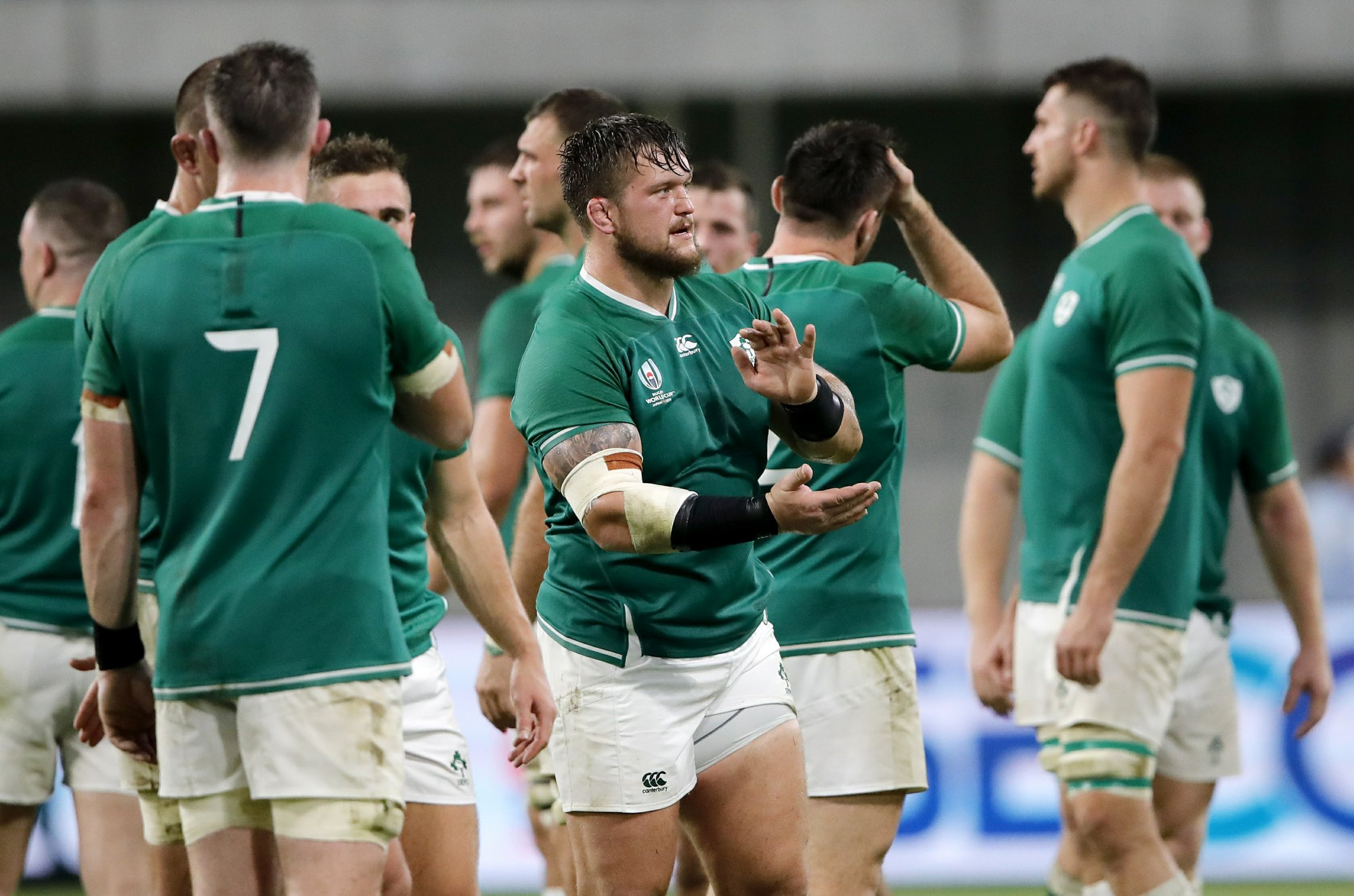 Ireland's hopes of topping World Cup group still possible