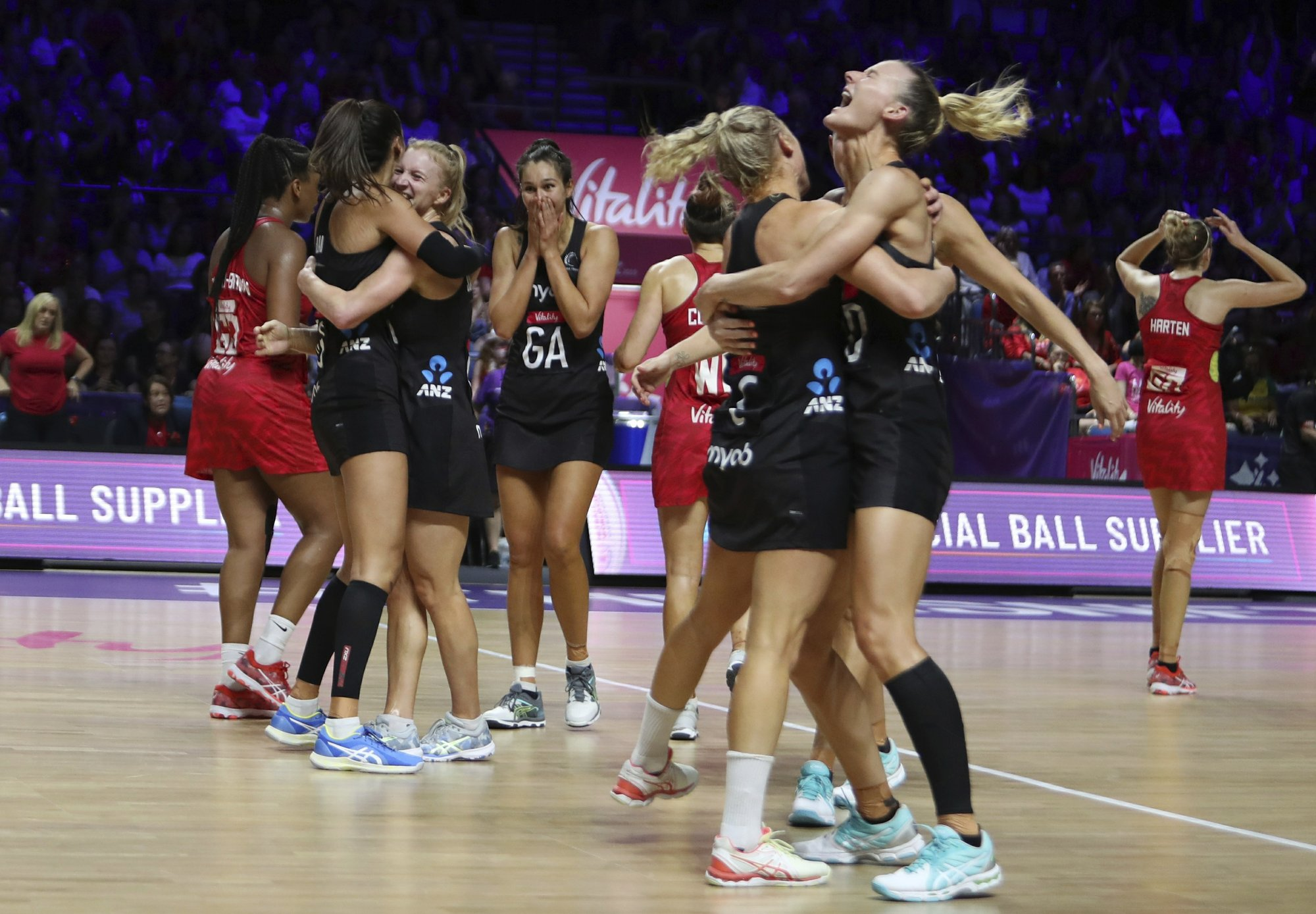 NZ beat England to face Australia in another netball final