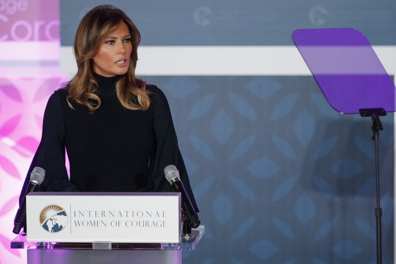 First Lady Melania Trump cancels a California fundraising set for later this month