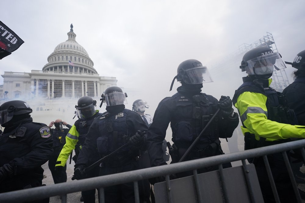 Activists on the lookout for any moves to expand law enforcement power or authority after Capitol riot