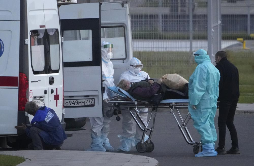 Russia marks coronavirus plague-pandemic high of infections, deaths…