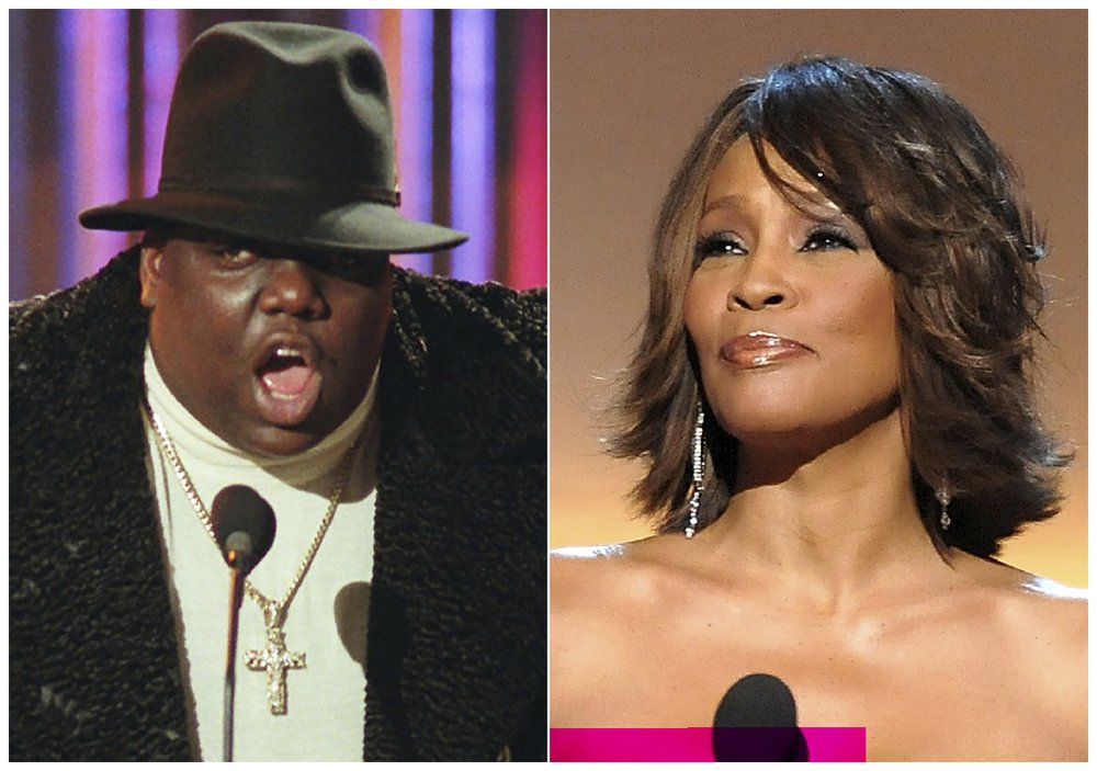 Whitney Houston, Notorious B.I.G., Nine Inch Nails set for induction into Rock and Roll Hall of Fame