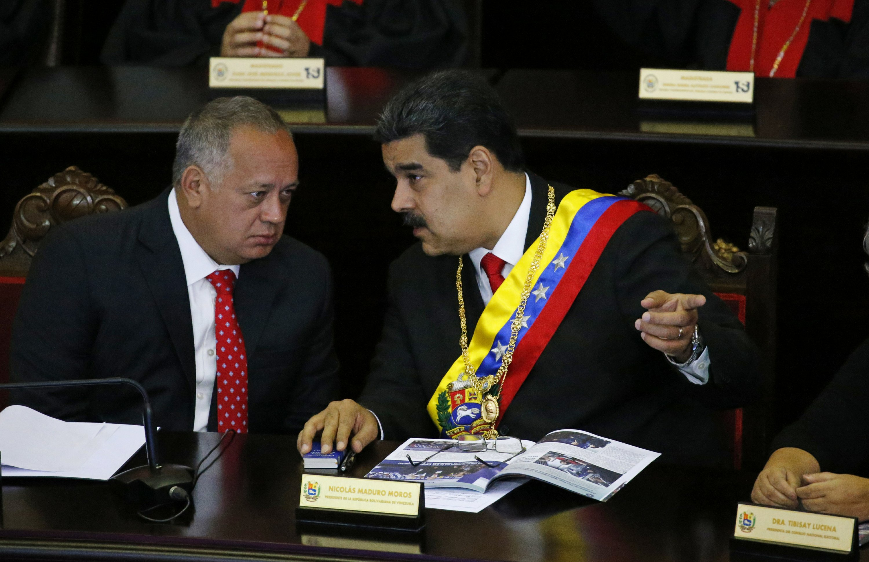US Official: Secret communications opened with Venezuela socialist boss Cabello over guarantees for Maduro insiders