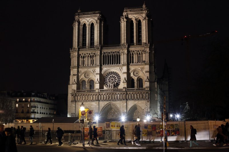 Notre Dame Rector Fragile Cathedral Might Not Be Saved