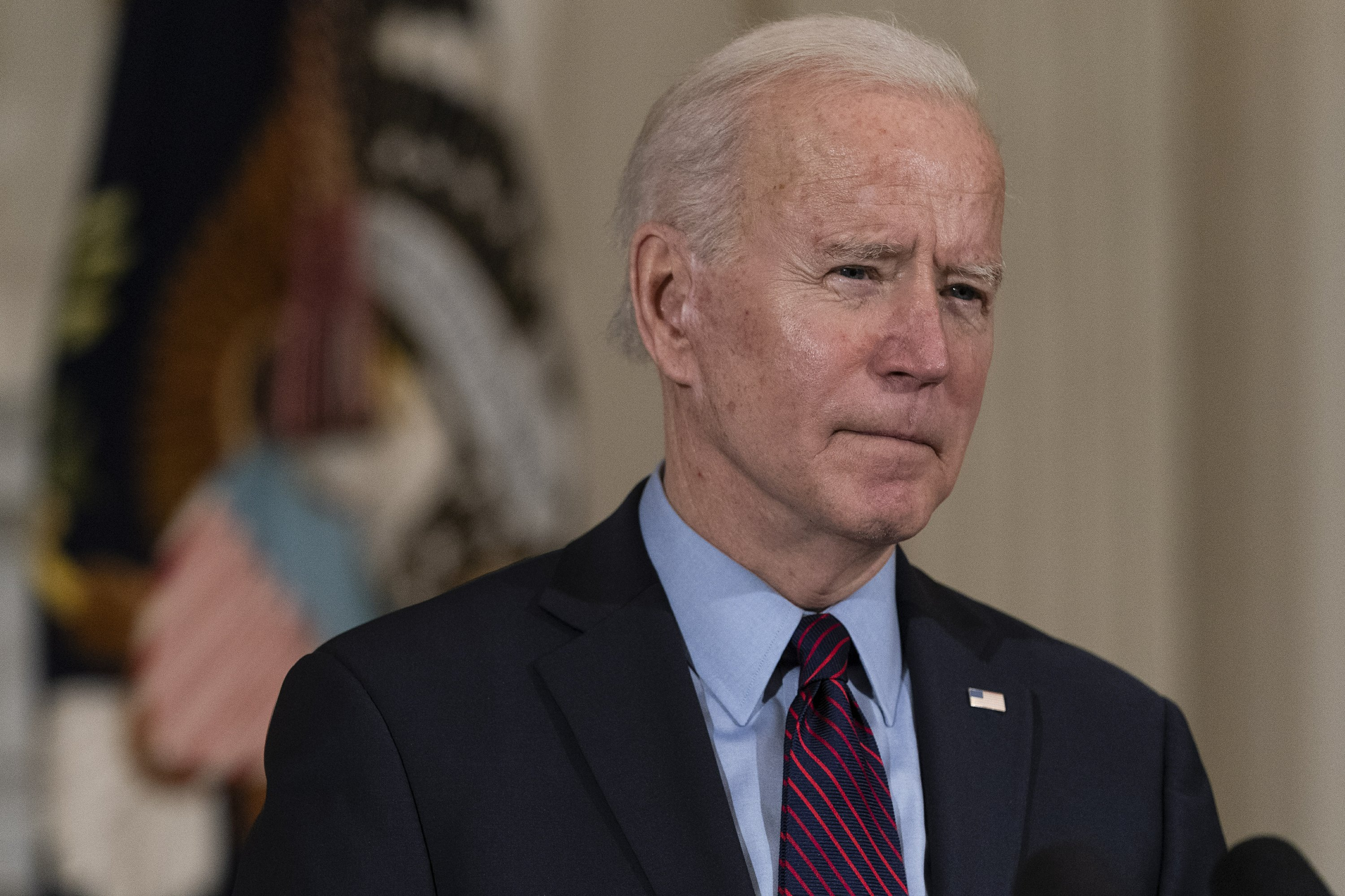 Biden gives Calif. woman pep talk in weekly address revival - The Associated Press