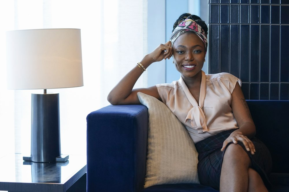 """Sharon Chuter founder of Uoma Beauty, puts forth a social media challenge to test the sincerity of the companies posting """"glossy"""" messages spouting support for black lives"""