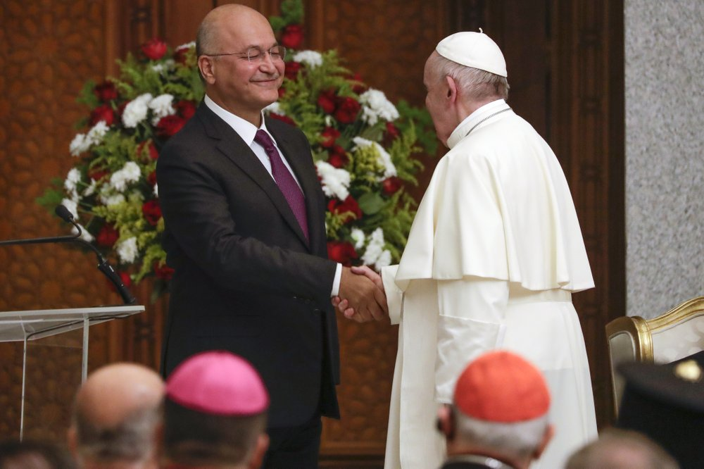 Pope Francis calls on Iraq to embrace diversity; delivers message of hope