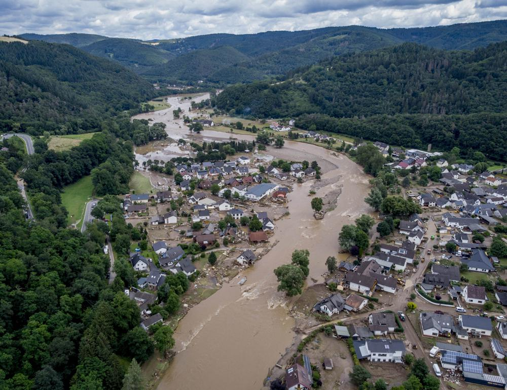 Over 50 People Dead, Dozens Missing After Heavy Floods Strike Germany and Belgium