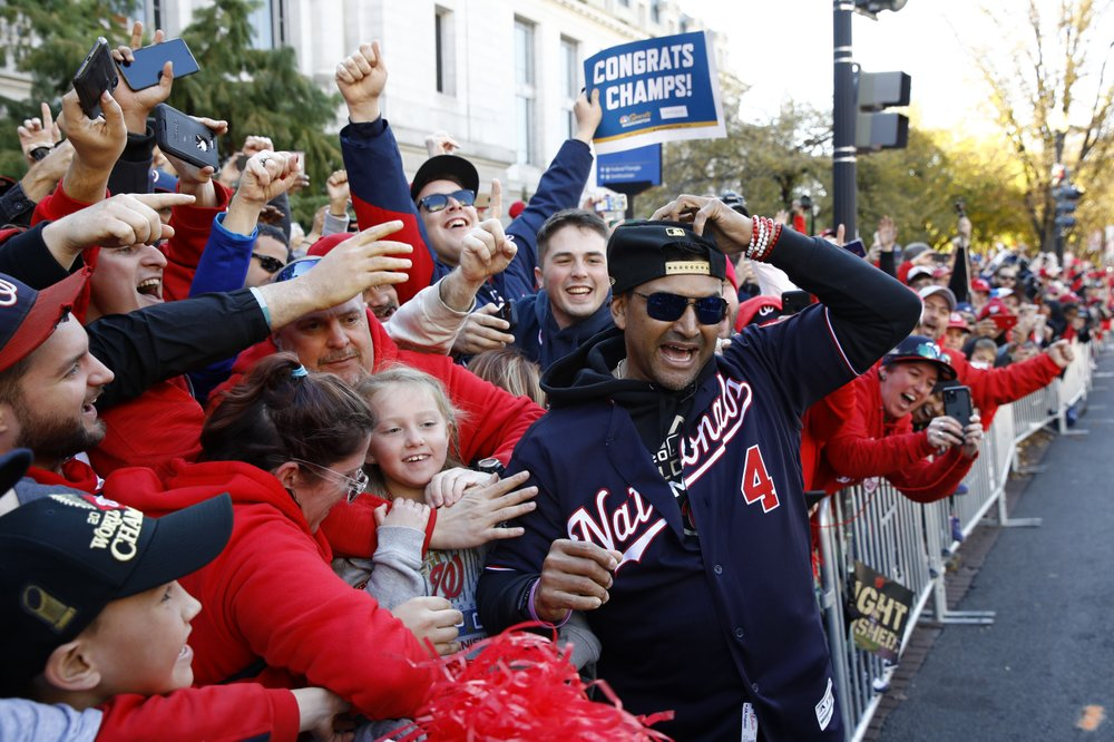 """The Washington Nationals will unveil their World Series championship rings during a """"virtual"""" ceremony shown on television and online"""