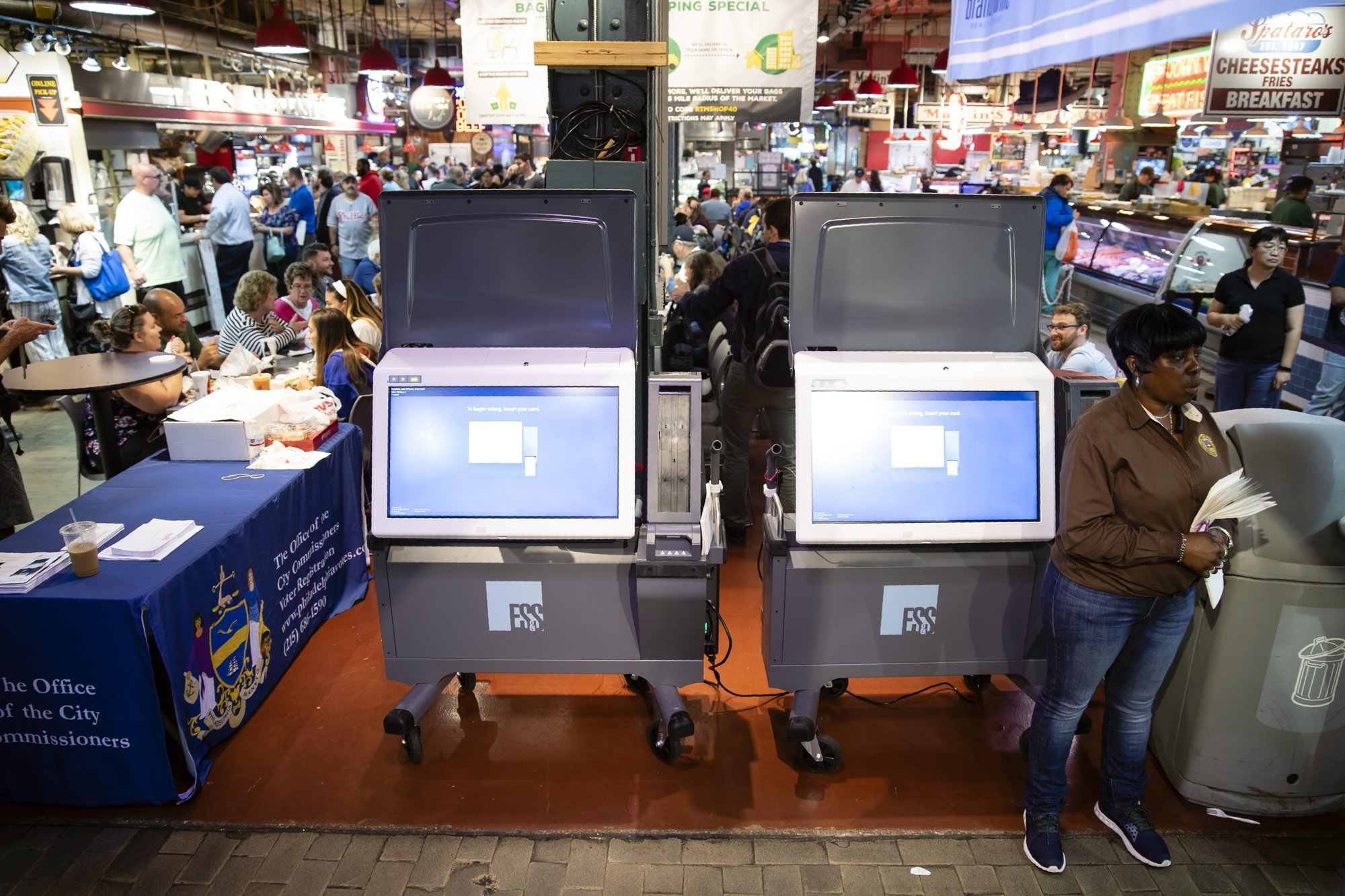 N Carolina, feds end look into voting-machine ownership