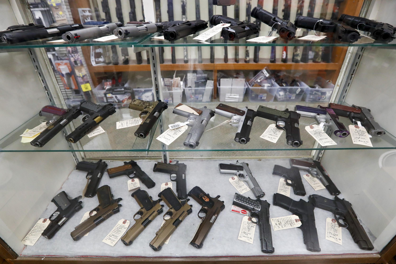 Background checks blocked a record high 300,000 gun sales