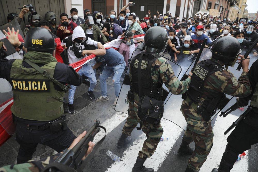 Peru swears in new president as political turmoil roils nation