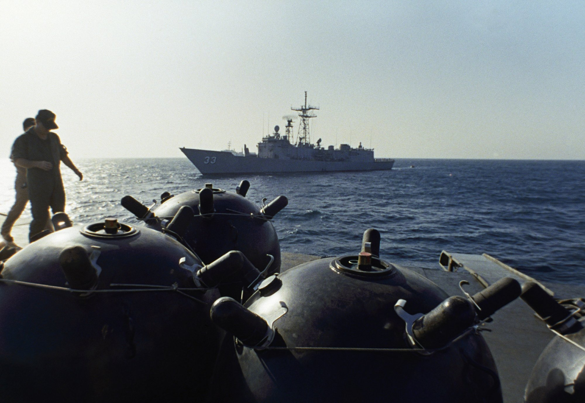 A look at foreign military bases across the Persian Gulf
