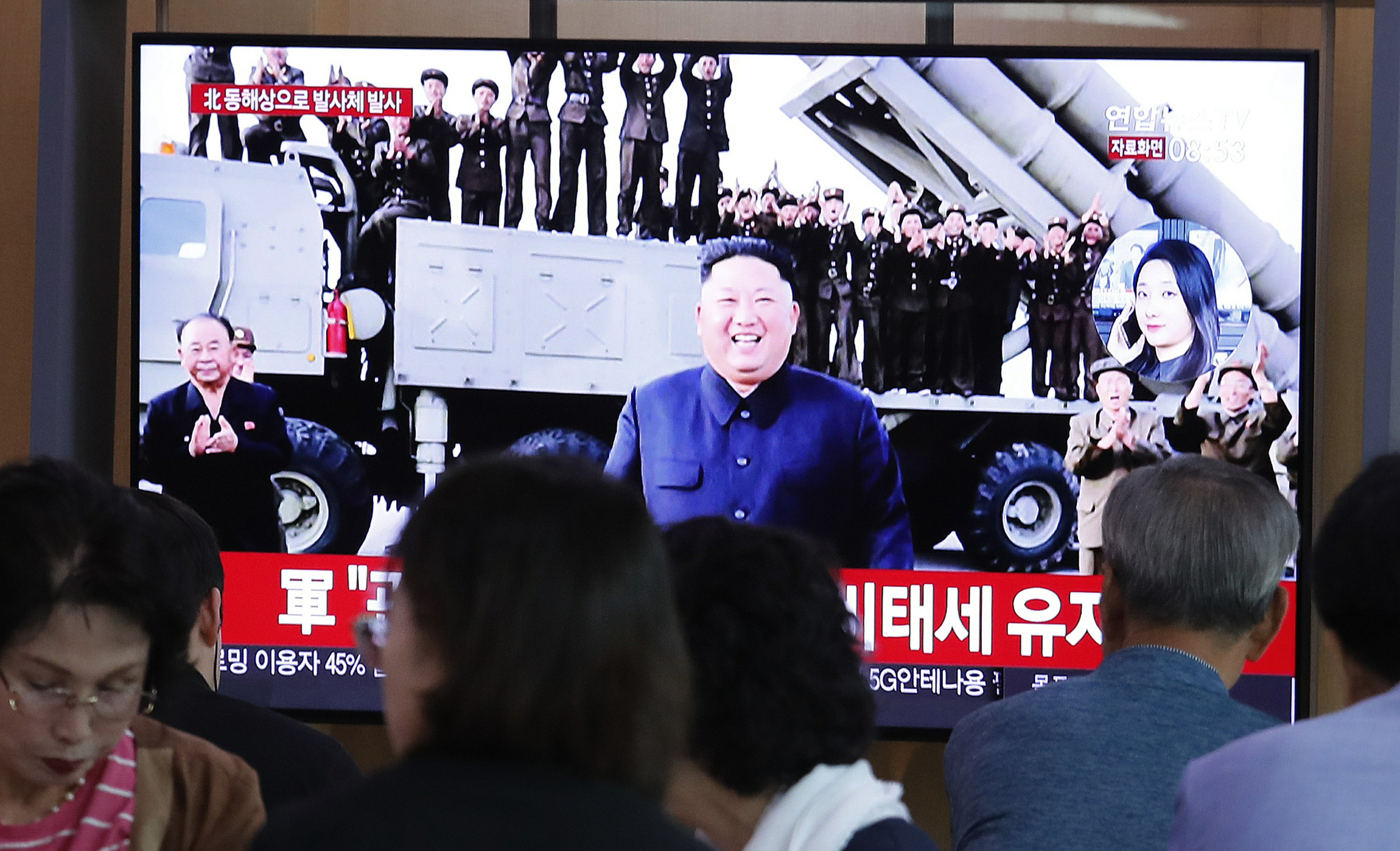 North Korea fires projectiles days before resuming US talks