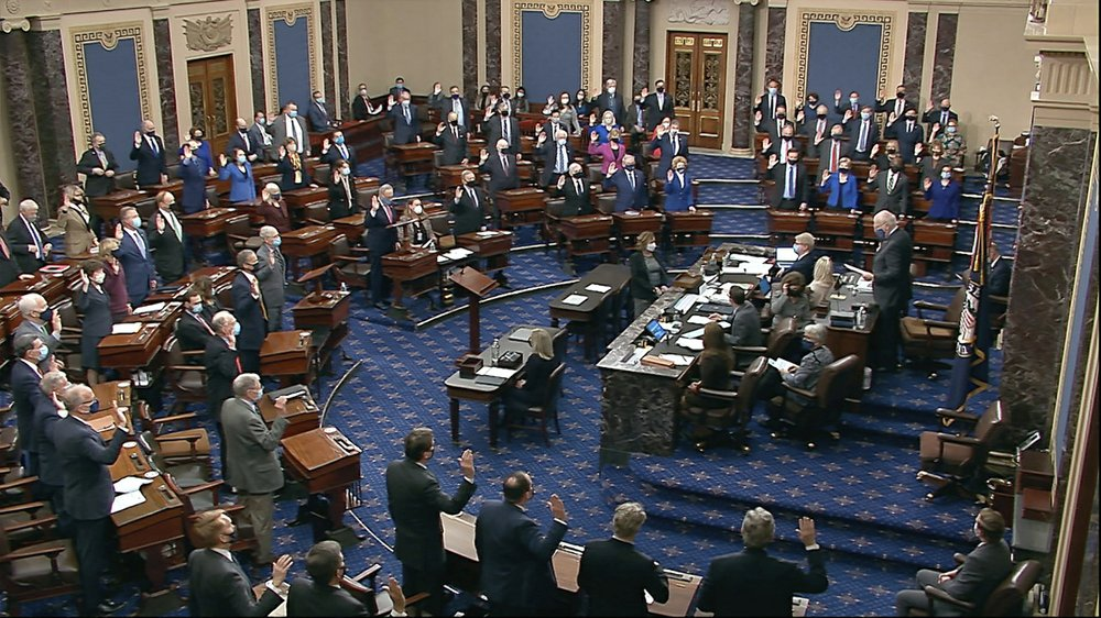 GOP largely votes against moving forward with Trump impeachment trial; conviction unlikely