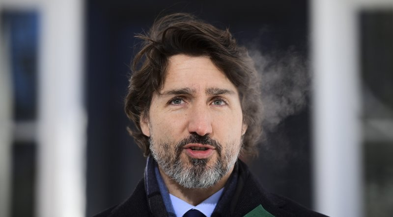 Prime Minister Justin Trudeau tries to reassure Canadians that Canada is still on track to get 6 million doses of Pfizer and Moderna vaccines by the end of March