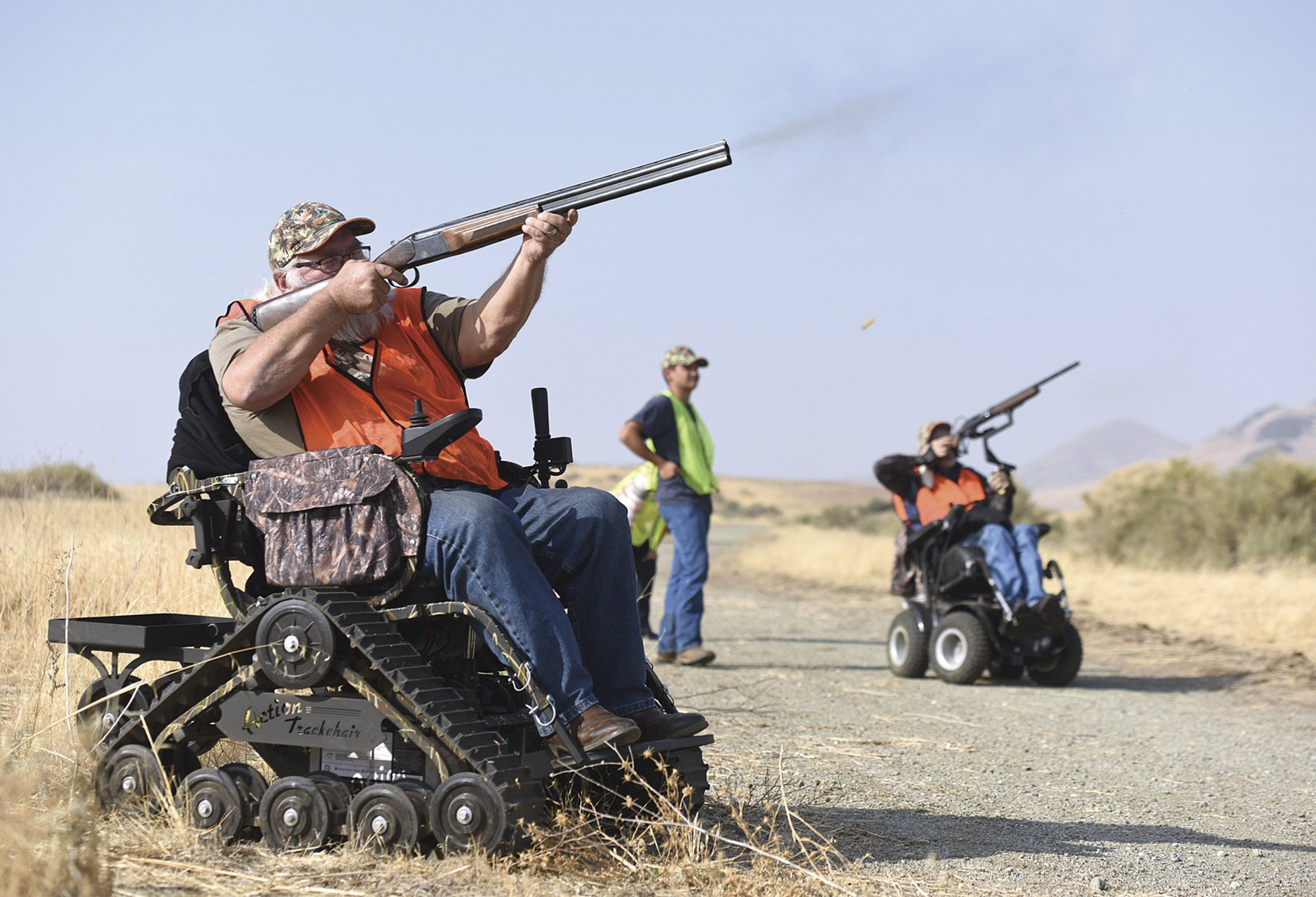 Man organizes hunting event for wheelchair users