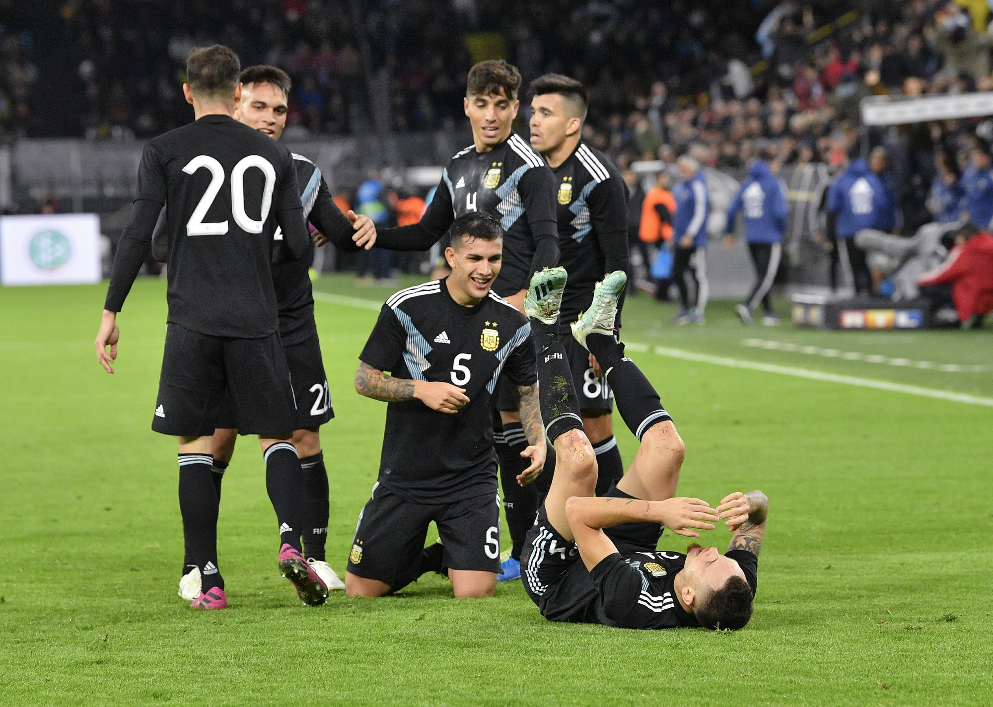 Argentina rallies to draw 2-2 against Germany in friendly