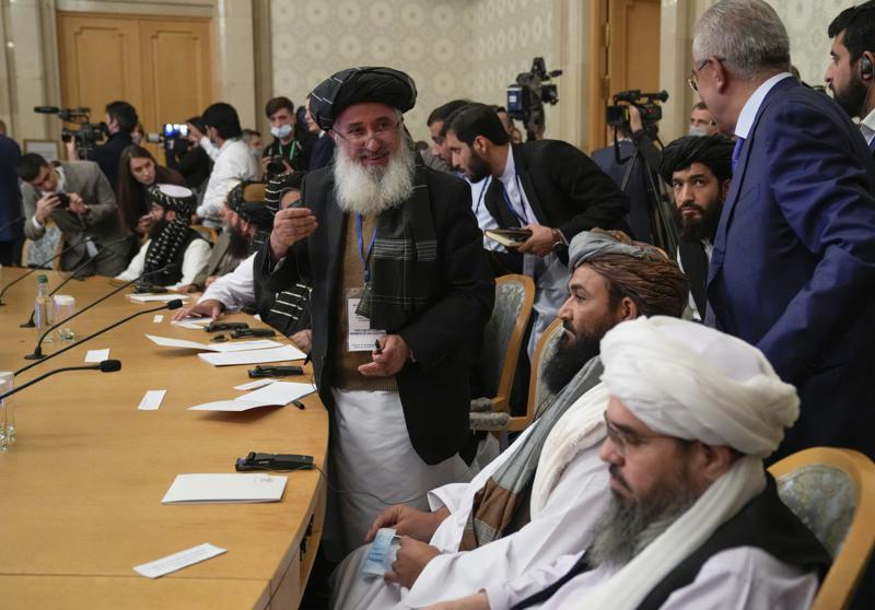 Russia Hosts Afghan Talks, Calls for Inclusive Government