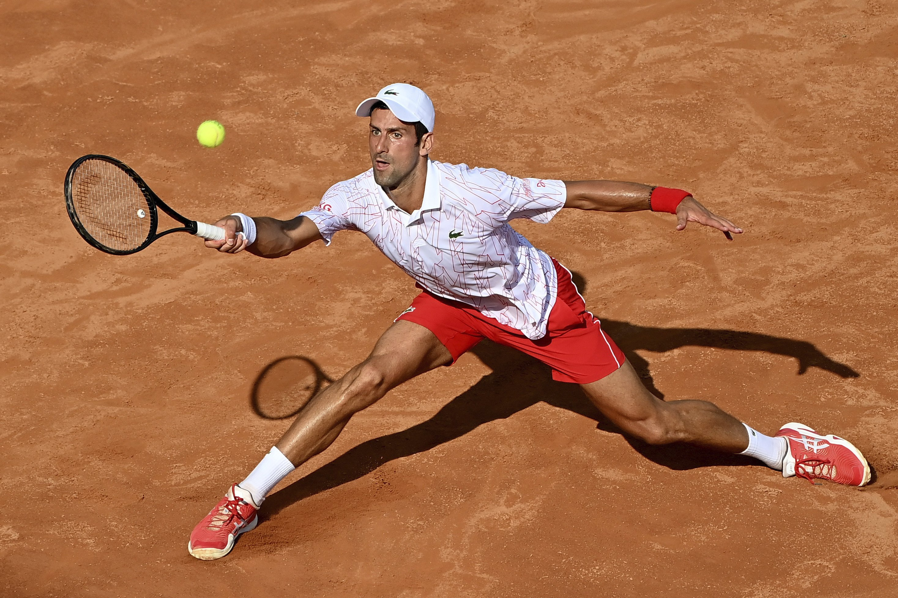 Pushed To The Limit Djokovic Finds A Way To Win In Rome
