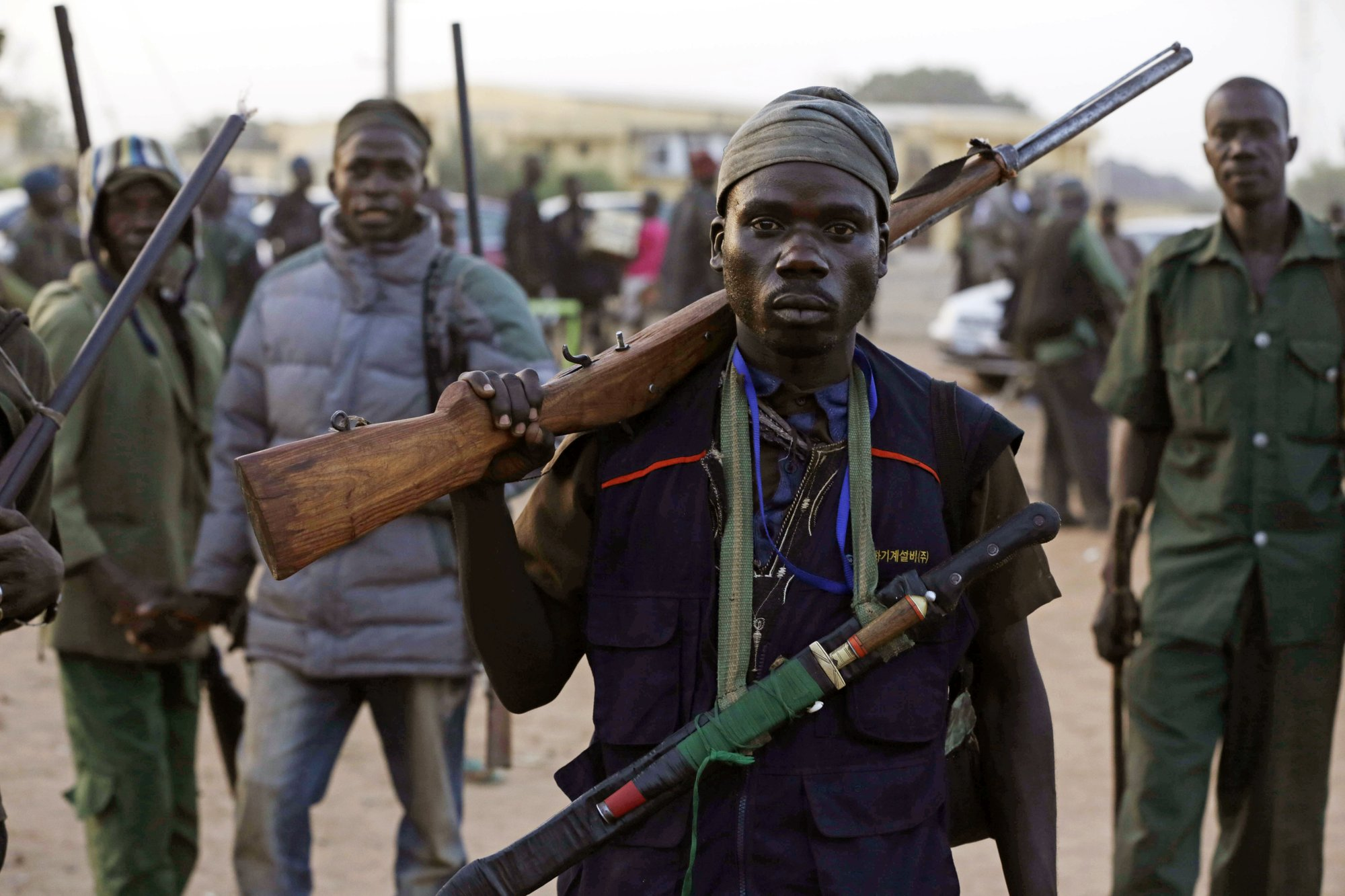 Thousands of Nigerian hunters prepare to chase Boko Haram
