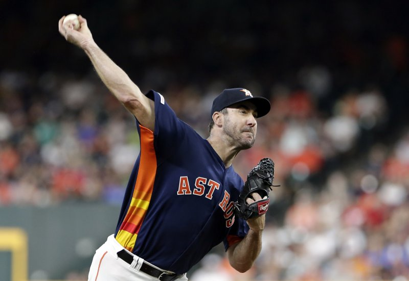 Verlander fans 10, pitching-rich Astros beat Mariners 3-1