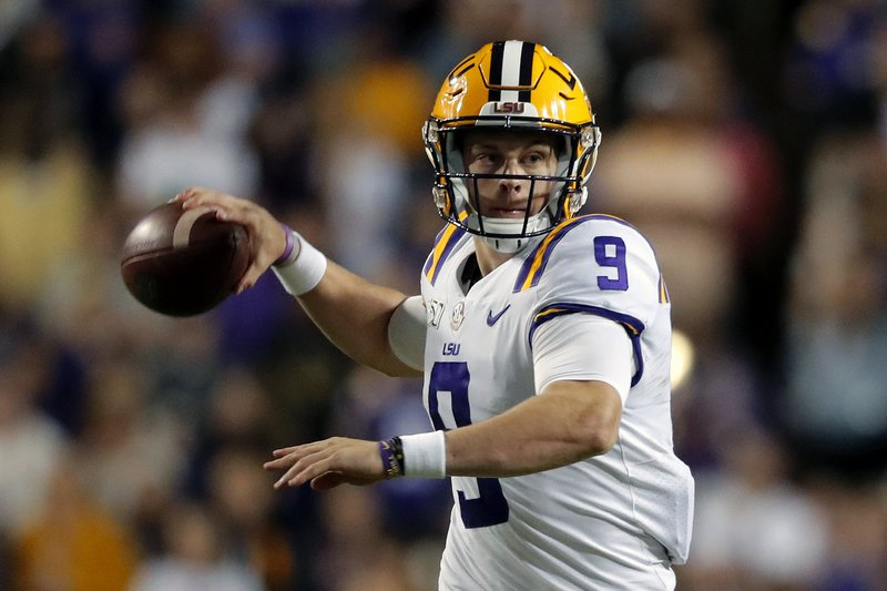 Bengals Select LSU's Joe Burrow with the First Pick in the 2020 NFL Draft