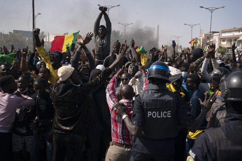 Senegal's opposition leader Ousmane Sonko now freed from custody blames President Macky Sall for his arrest