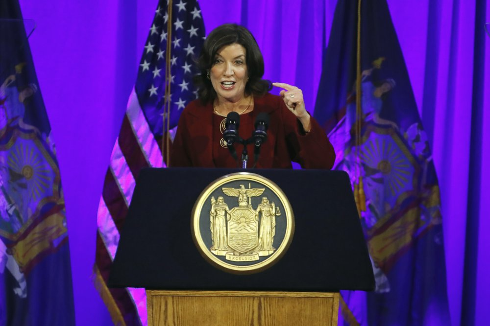 With Andrew Cuomo called upon to resign, his successor, Kathy Hochul is treading carefully