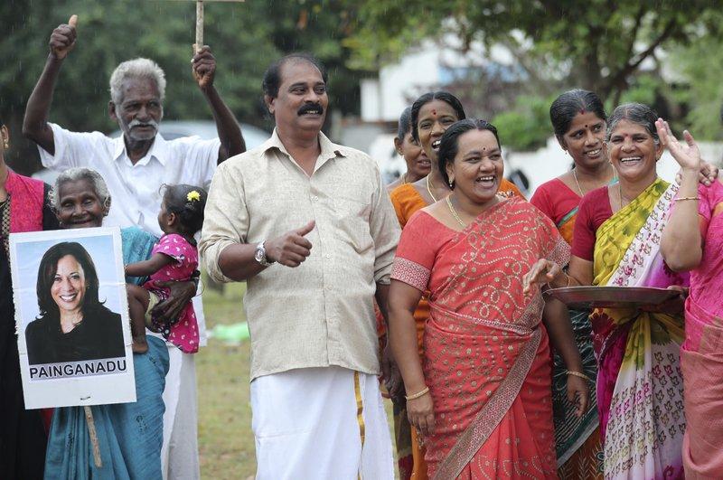 Indians celebrate Kamala Harris' win with firecracker