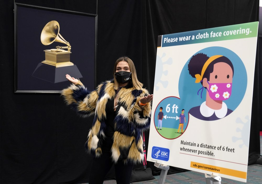 Grammy organizers taking extraordinary measures to pull it off this year while still in the coronavirus pandemic