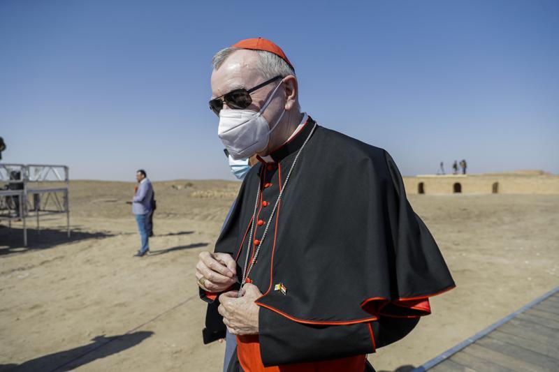 Cardinal Pietro Parolin cancels trip to Venezuela, cites pandemic