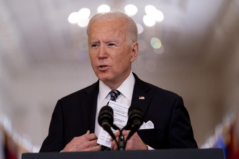 President Biden's first 100 days shows more action, less talk